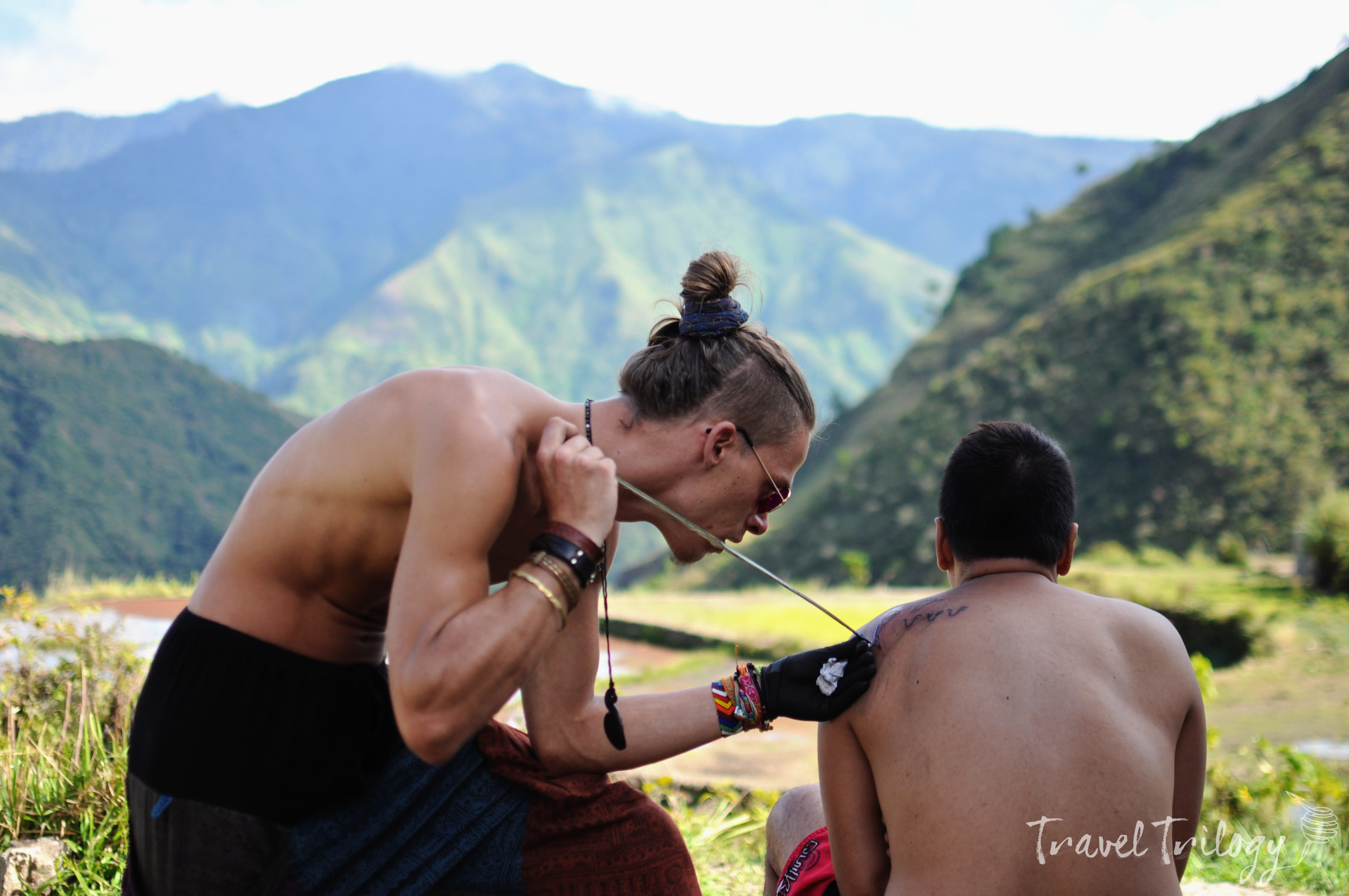 The Redeemers Of Traditional Hand Tapped Tattoo In The Philippines