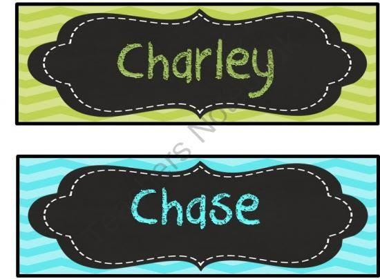 1000+ ideas about Chevron Name Plates on Pinterest | Classroom ...