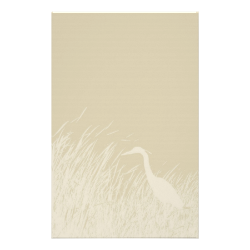 Stationery with heron silhouette