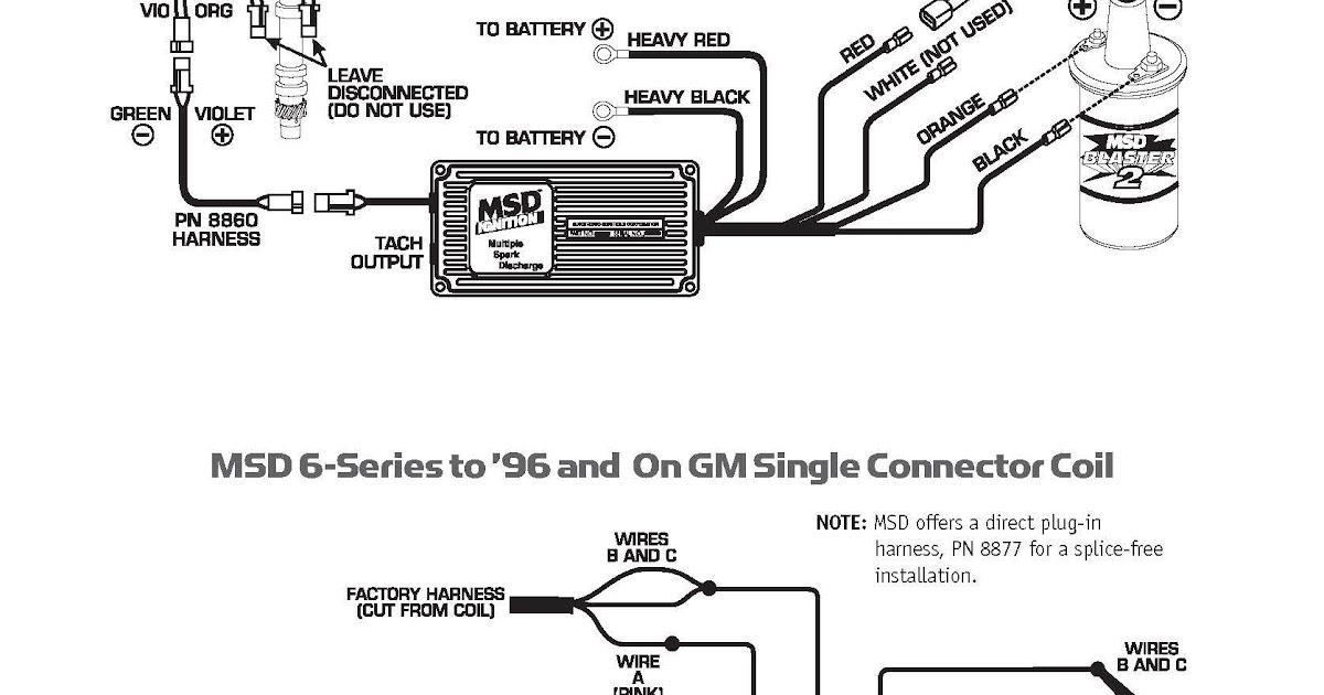 Msd 6al Wiring Diagram For Gm Hei