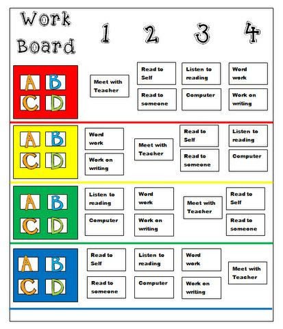 1000+ images about Daily Five Kindergarten Ideas on Pinterest ...