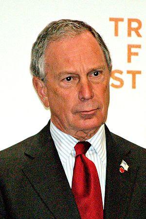 New York City Mayor Michael Bloomberg opening ...