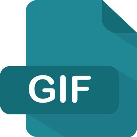 gif icon flat file type iconset pelfusion