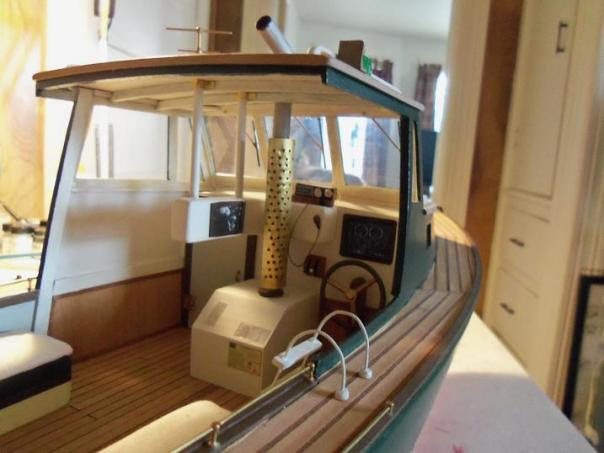 Build Wood Lobster Boat plywood catamaran plans free