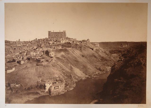Vista de Toledo desde la Ermita del Valle en 1854 por Alphonse de Launay. Cortesía de Serge Kakou