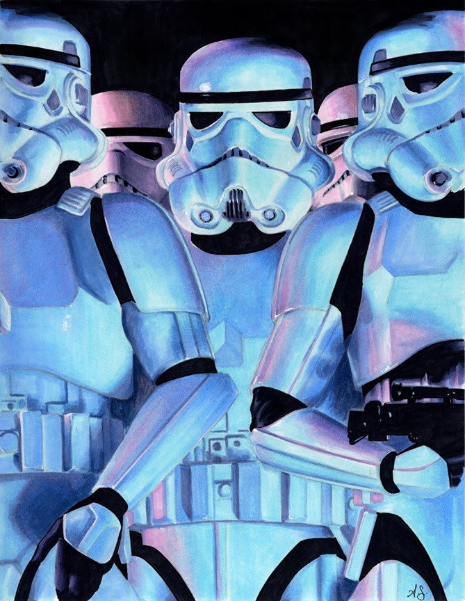 Storm Troopers by Allison Sohn