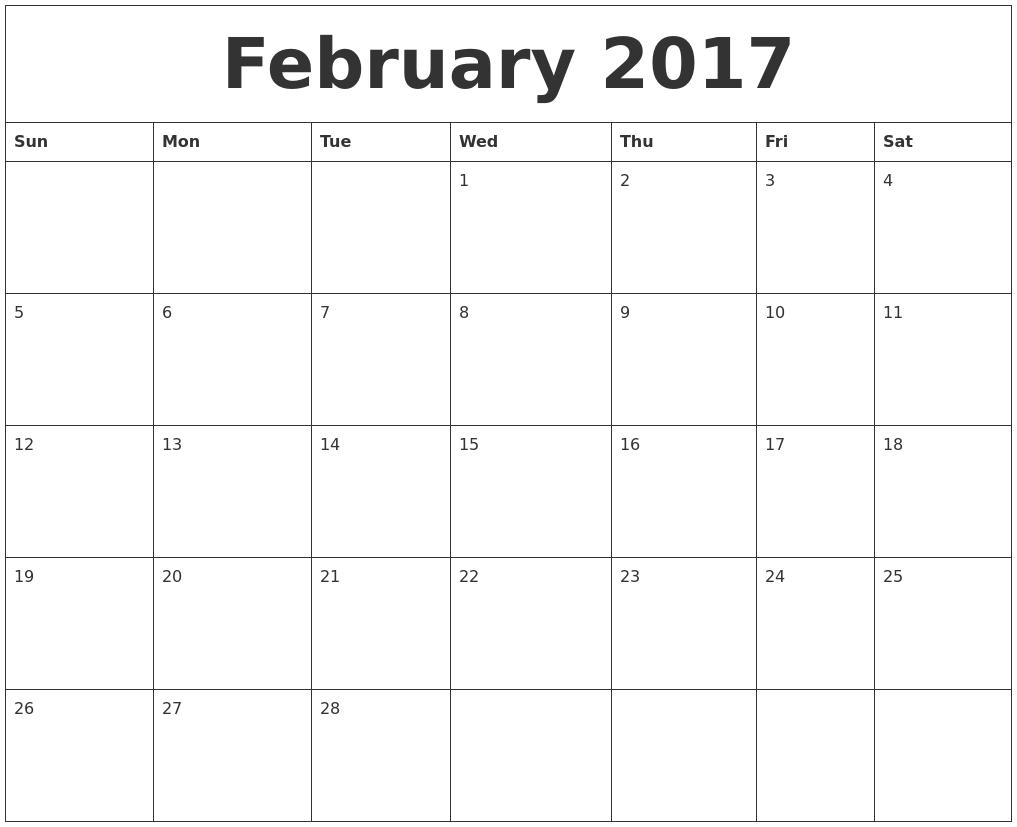 March Calendar 2017 Editable | 2017 calendars