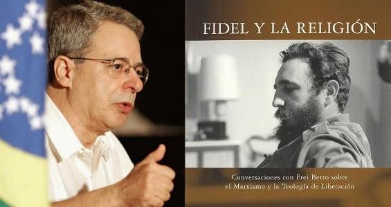 """Frei Betto en la presentación de su libro """"Fidel y la Religión"""". Foto de Archivo"""