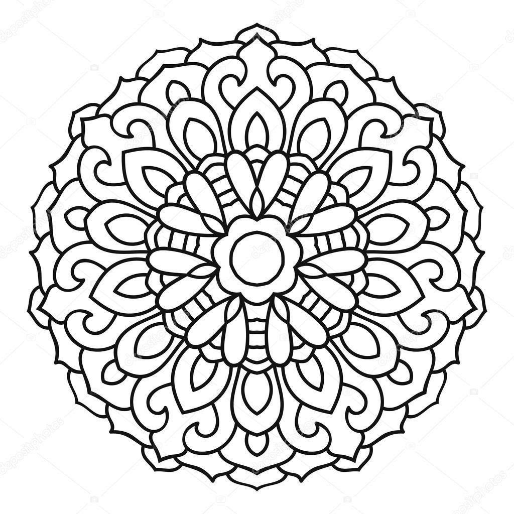 (seçilmiş) Mandala Boyama 4 Yaş