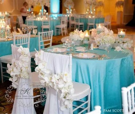 Tiffany Blue Wedding Theme   Weddings Romantique