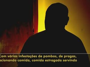 Agente denunciou problemas na penitenciária (Foto: Reprodução/TV TEM)
