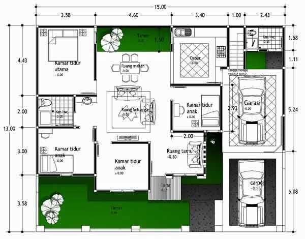 Desain Interior Rumah Minimalis 2 Kamar Tidur