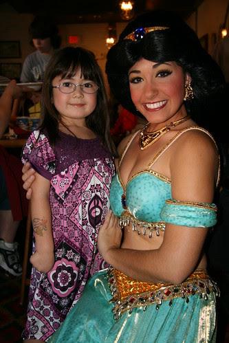 Dova and Princess Jasmine
