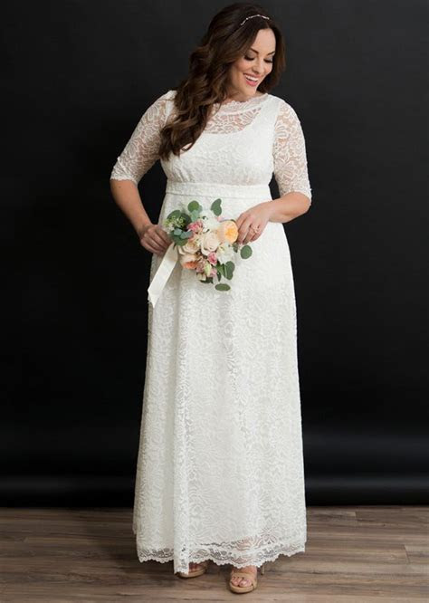 The Best Places to Buy a Plus Size Wedding Dress   PureWow
