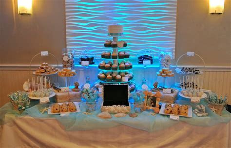 beach theme dessert table dessert tables ideas