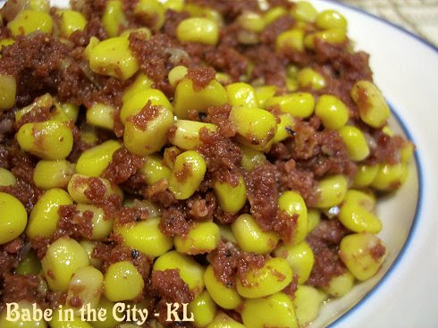 Stir-fried Corned Beef With Corns