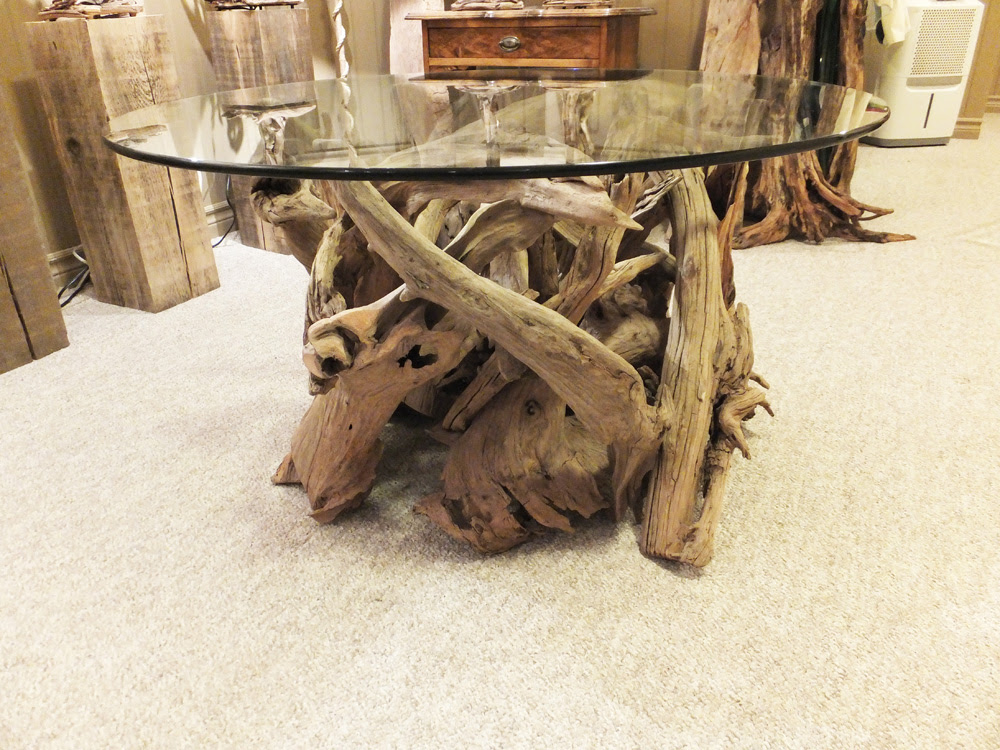 Round Coffee Table Sold Driftwood Studio