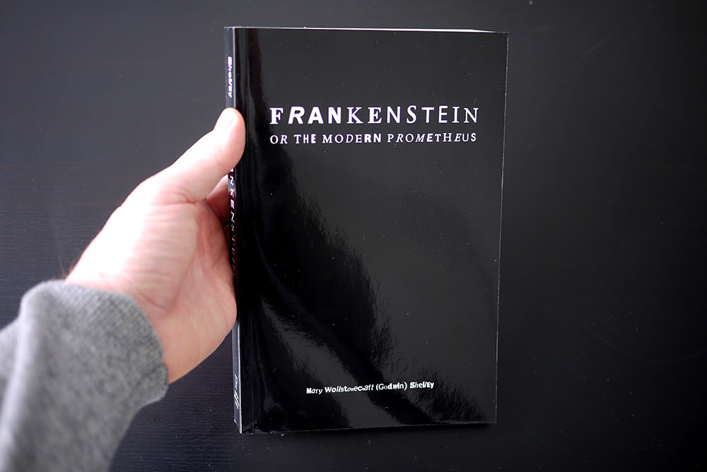 Fathom Information Design. Frankenstein.  PoD, 2011, 336 pages.