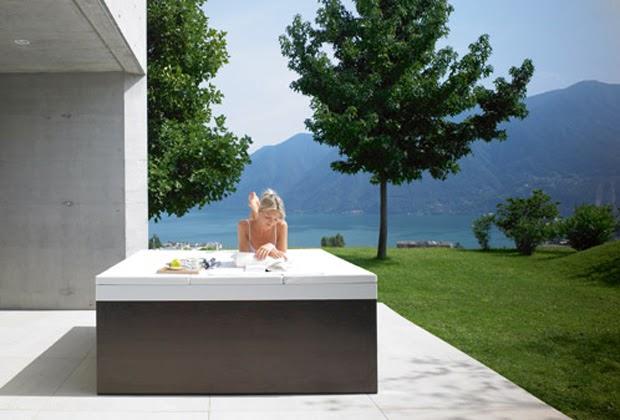 Minipiscinas para exteriores modernos de duravit blogydeco for Minipiscinas para terrazas