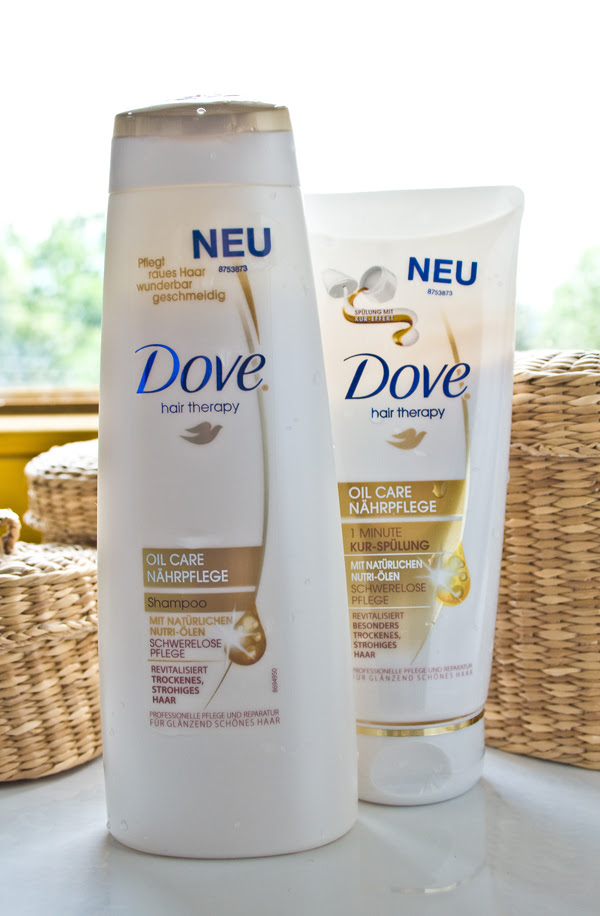 Ab August 2011 Im Handel Dove Hair Therapy Oil Care Nährpflege