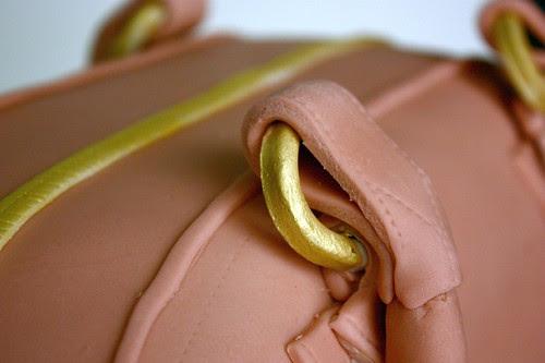 Marc Jacobs Blake Bag Cake - handle