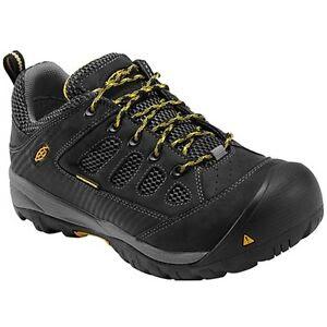KEEN-UTILITY-Men-039-s-1010104-Tucson-Low-Black-Gargoyle-Steel-Toe-Work-Shoes
