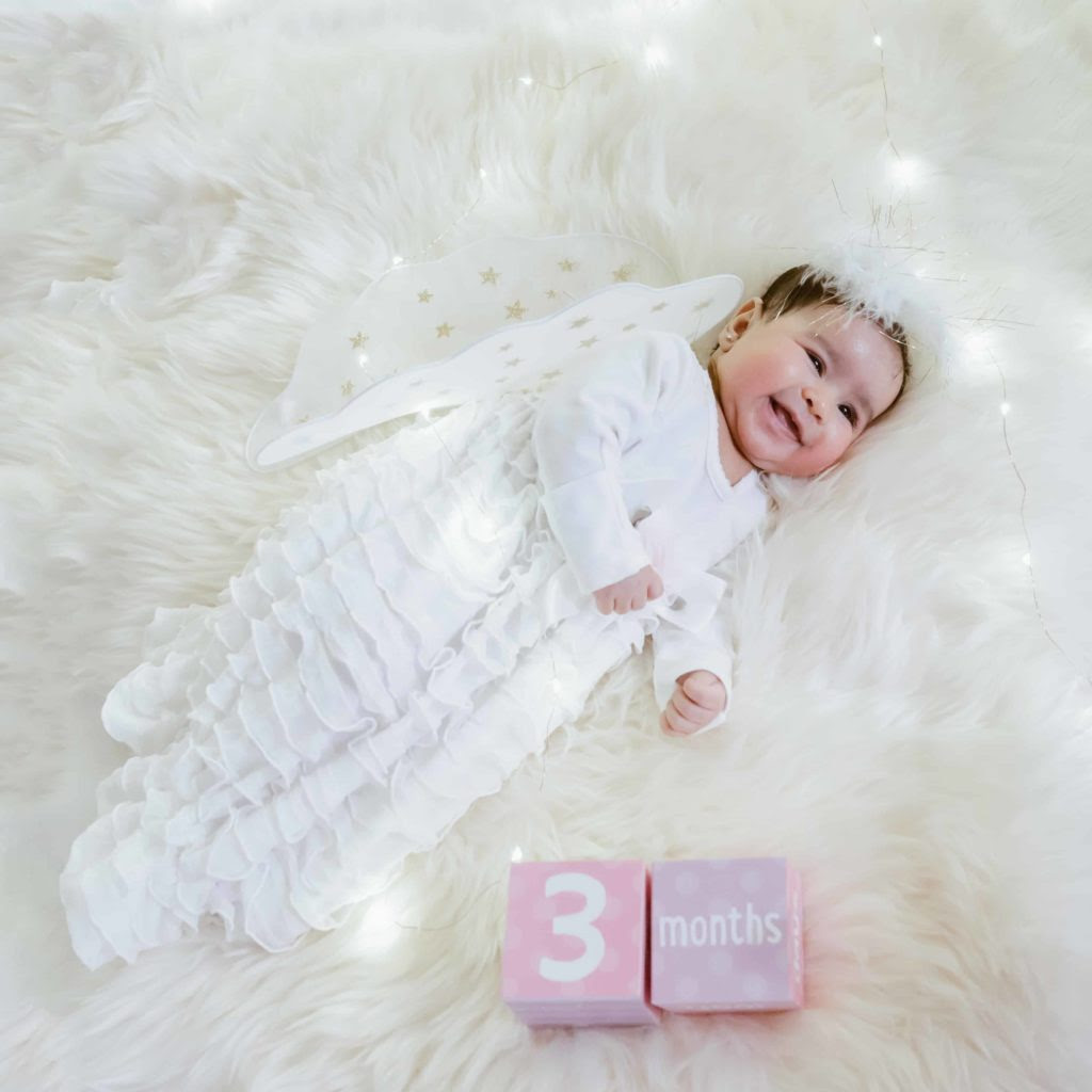 Baby You Are Three Months Old Today Love Playing Dressup