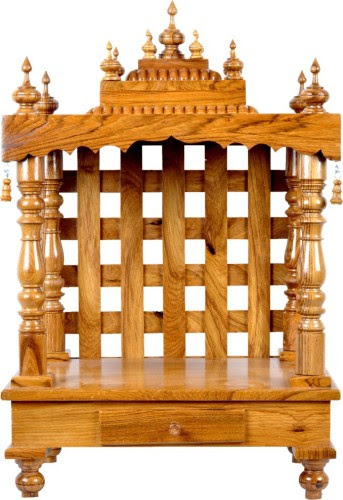 Buy Designer Lanes Wooden Home Temple At Best Price In India