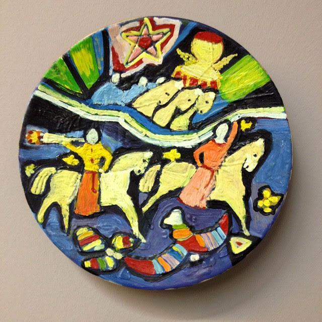 Plate by Maia Tsetskhladze