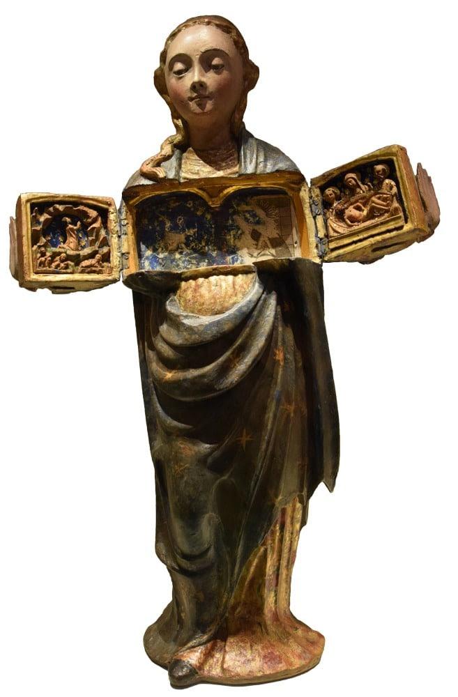 Vierge ouvrante, vers 1600, Museo Arqueológico Nacional (Madrid)
