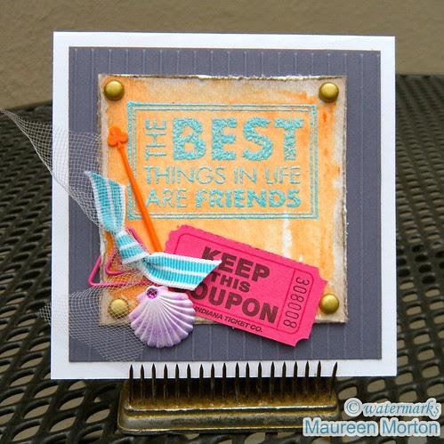 The Best Things by mkmermaid (Maureen)