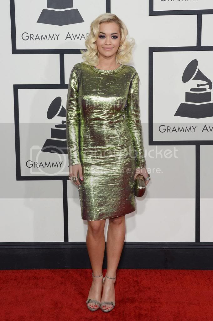 Red Carpet Looks: 56th Annual Grammy Awards...