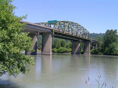 bridgehuntercom wa  cowlitz river bridge eastbound
