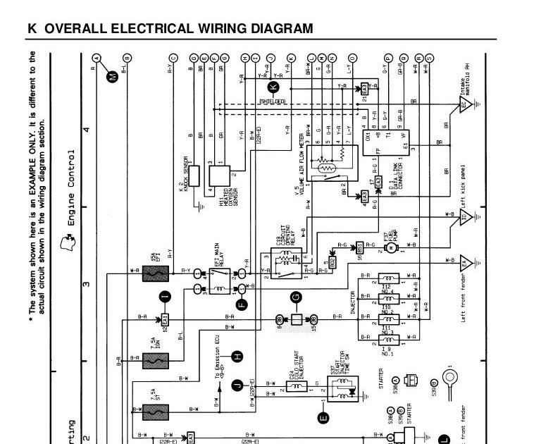 1997 Toyota Camry Spark Plug Wire Diagram