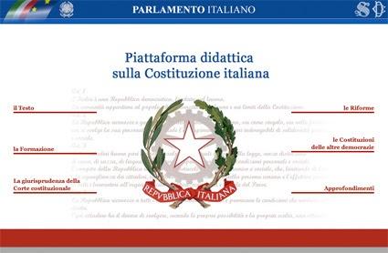 La scuoleria storia la costituzione italiana una bella for Il parlamento italiano wikipedia