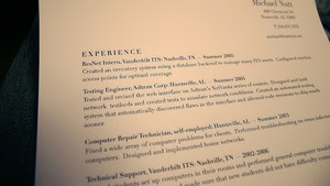 Create Resume Templates to Save Time, Avoid Sending Out the Same Resume