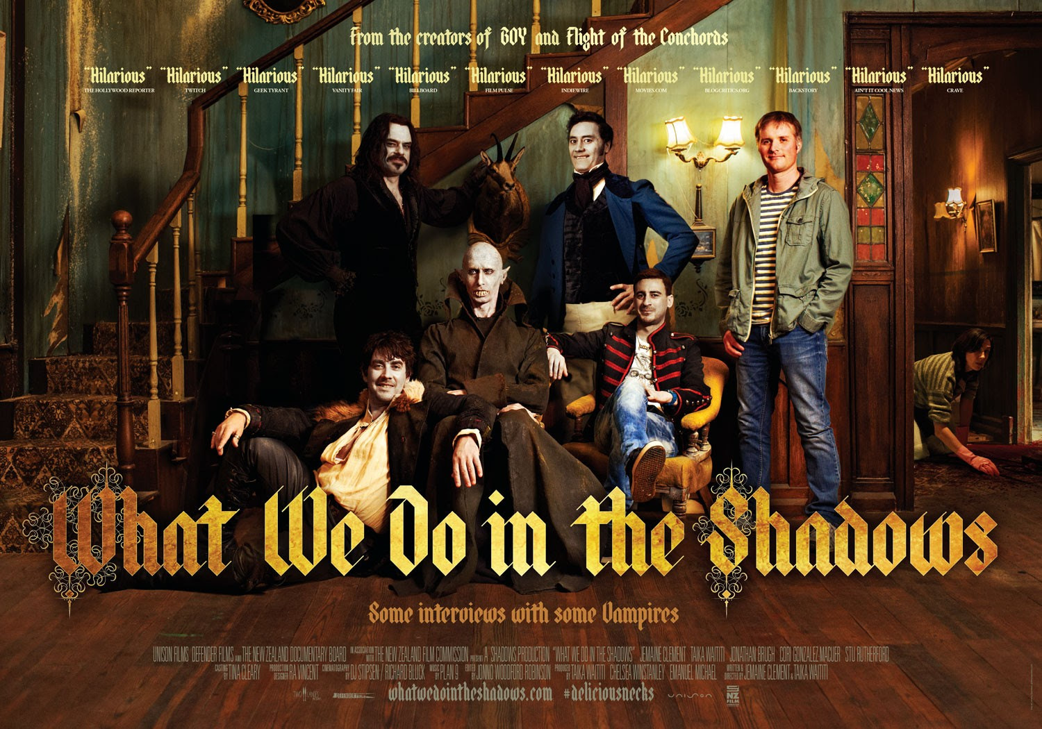 Resultado de imagem para What We Do in the Shadows