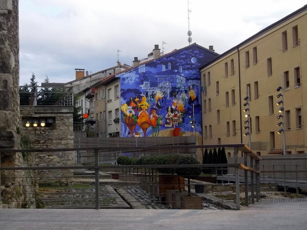 Murales De Vitoria La Noche Mas Corta
