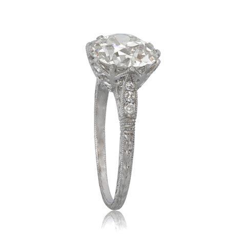 Vintage Diamond Solitaire Engagement Ring