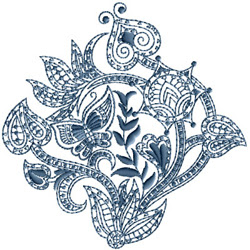 Paisley Motifs Embroidery Designs