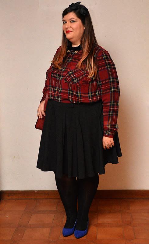 outfit tartan e nero4