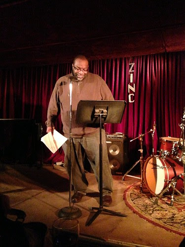 Fred Moten, Segue Series @ Zinc Bar