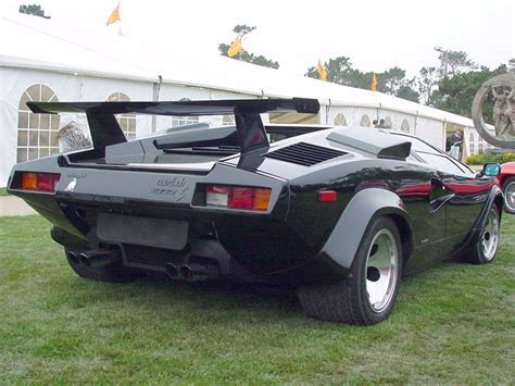 Lamborghini Countach 5000 Quattrovalvole Engine, Lamborghini, Free Engine Image For User Manual