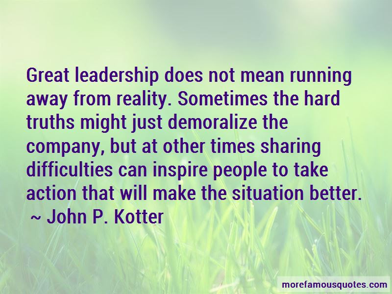 Quotes About Difficulties Of Leadership Top 1 Difficulties Of