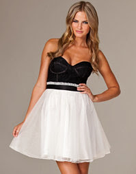 Three Little Words - Bustier Prom Dress