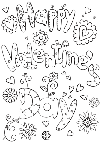 Anime Valentines Day Coloring Pages Coloring And Drawing