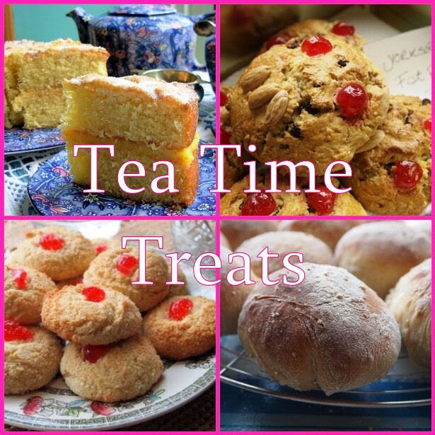 Tea Time Treats Challenge Logo