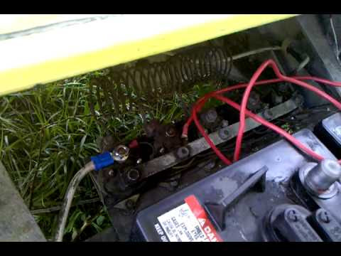 Solenoid problem Just clicking 1987 Club Car Golf cart ...