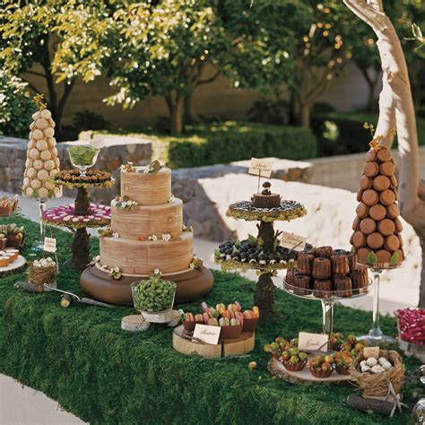 39 Amazing Dessert Tables from Real Weddings   Martha