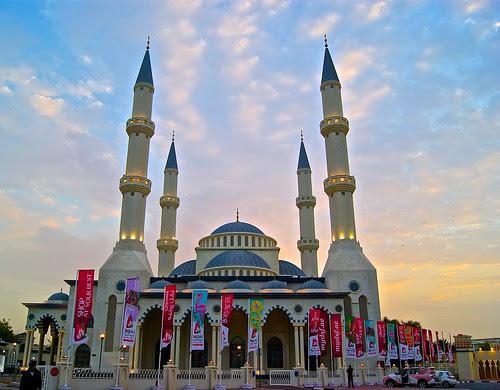 Fujairah mosque in Dubai